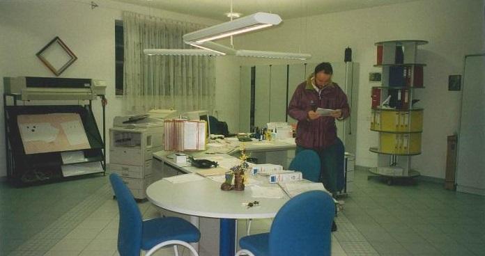 Um + Zubauarbeiten im Büro  (Winter 1998/1999)