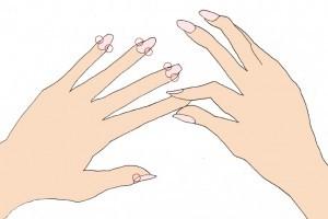 「爪揉み イラスト」の画像検索結果