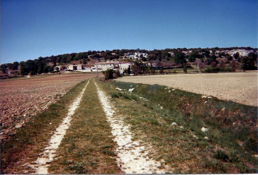 Vue de la station d'épuration en 1997
