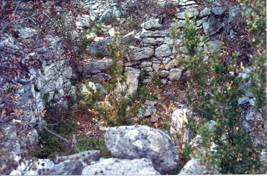 Saint Martin: ruines de l'ancien Prieuré?