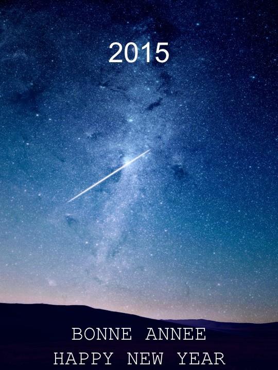 Bonne année 2015 #naturo06.com