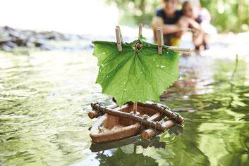 Korkboot-Bausatz von Terra Kids / 14,95€