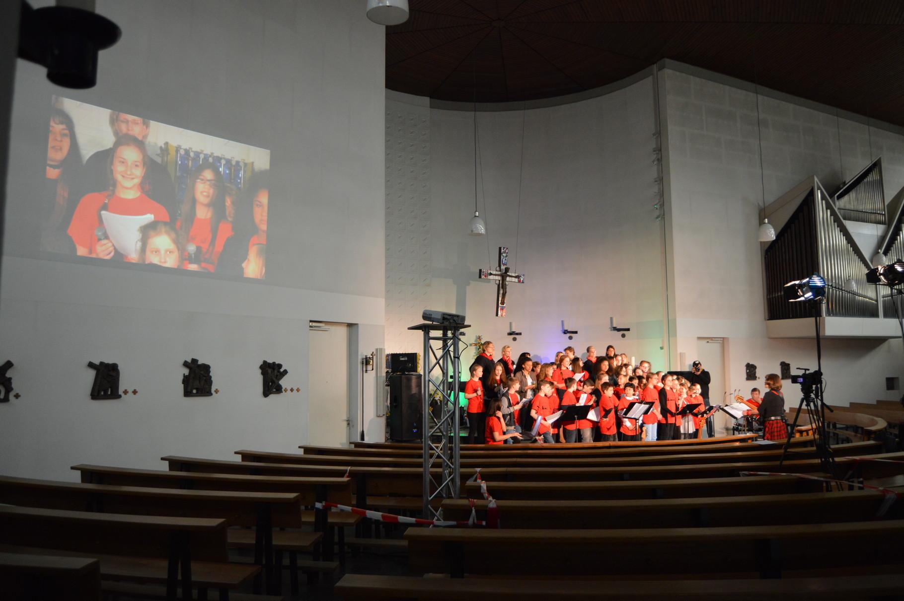 St. Hedwig Hedwigkids Konzert 2016 - Licht- und Medientechnik