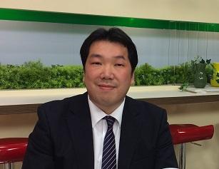 第1部講師:道新りんご新聞編集長・伴野卓磨