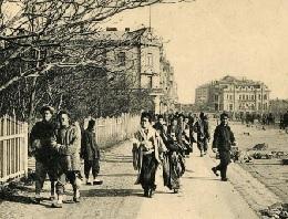 19世紀末のウラジオストク中心市街 (立命館大学国際平和ミュージアムより)