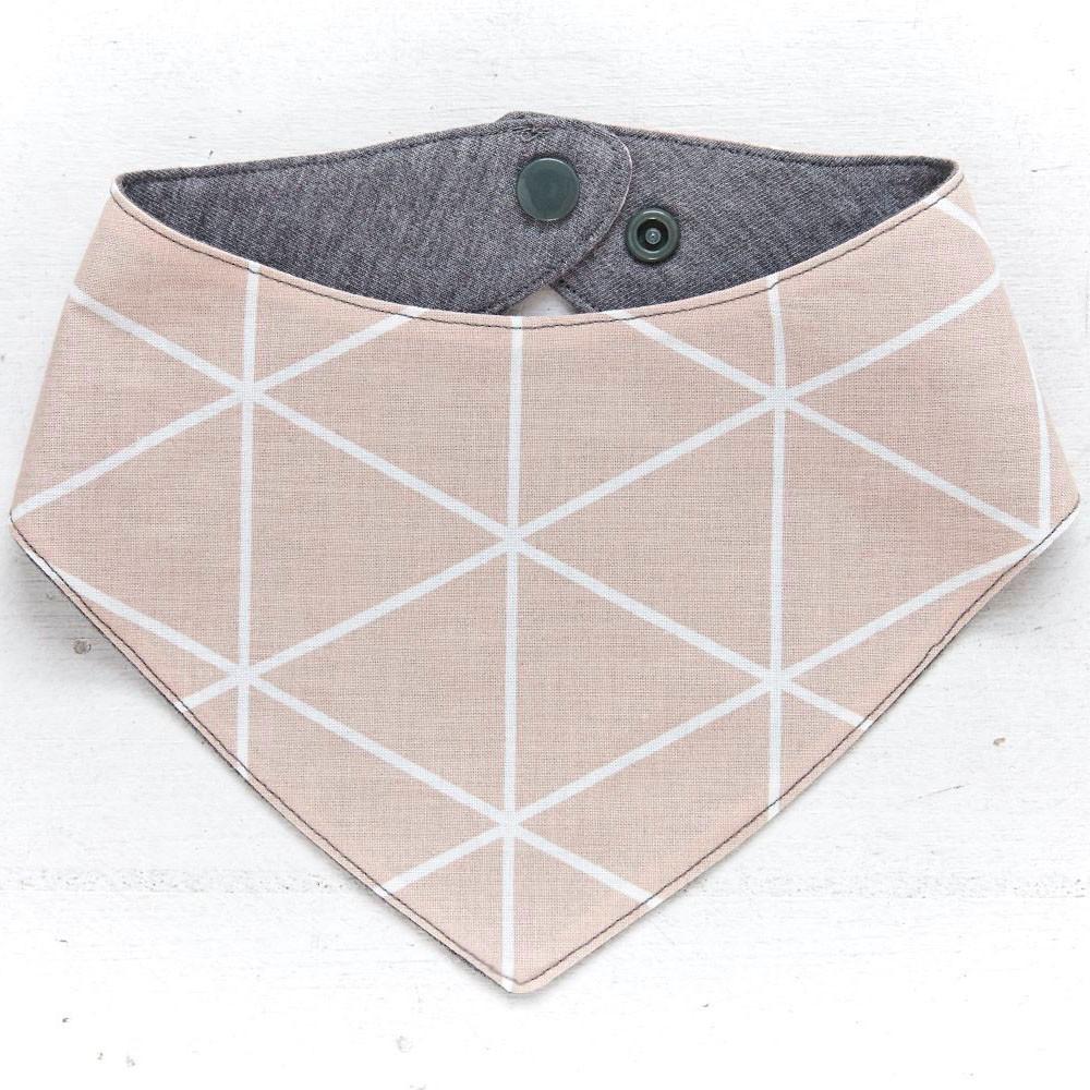 Dreieck Rosa/Grau