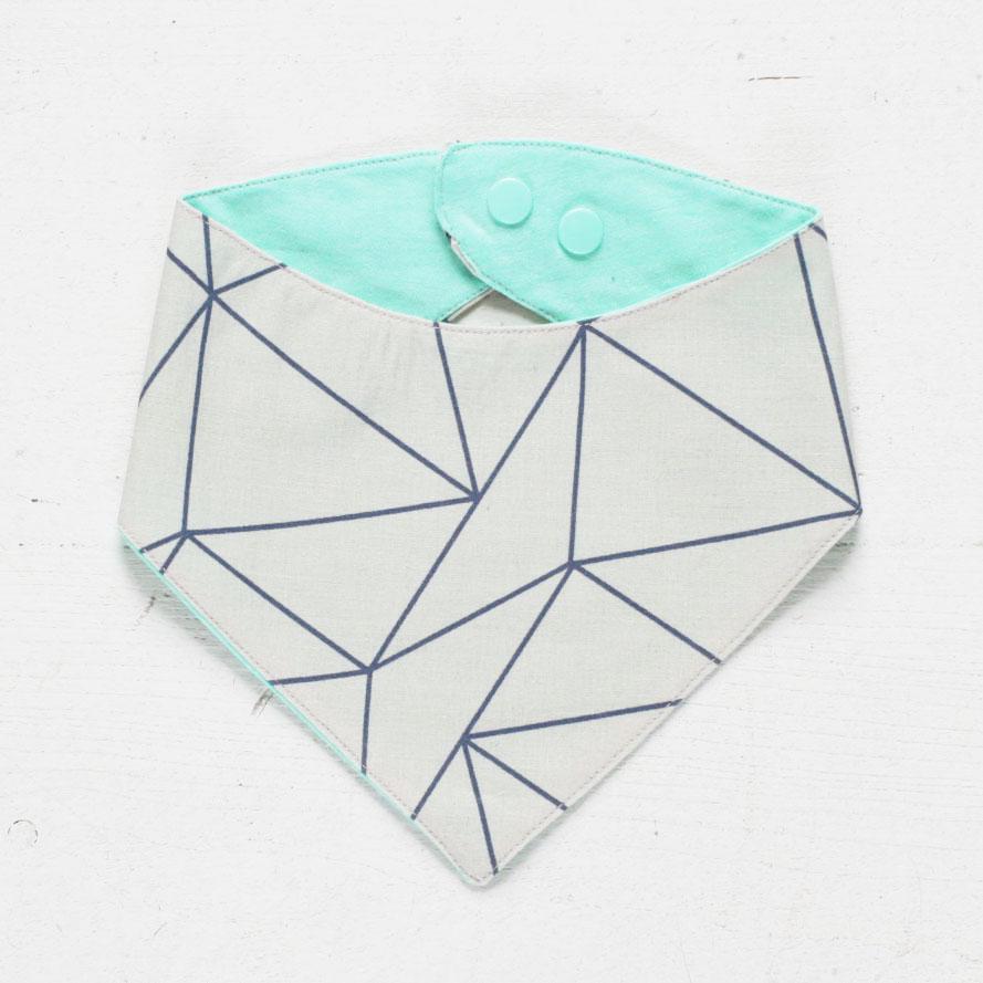 Dreieck Beige/Mint