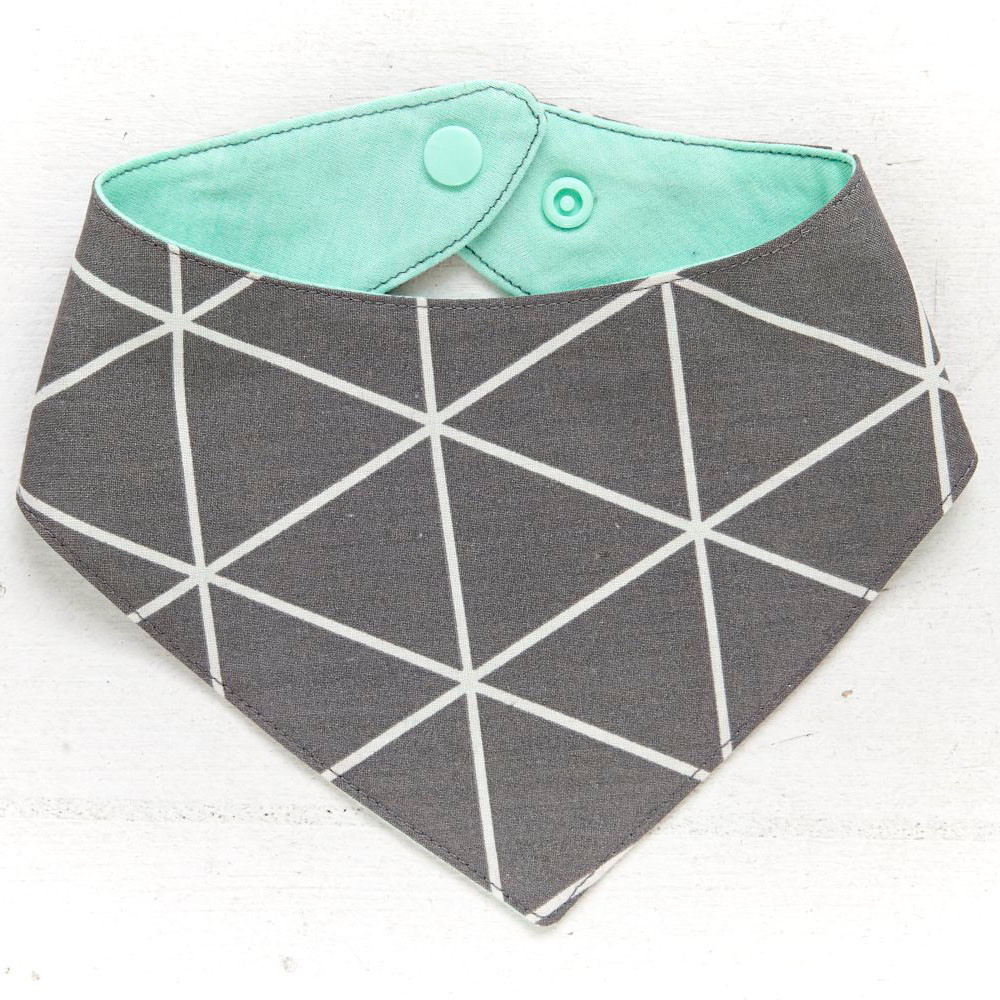 Dreieck Grau/Mint