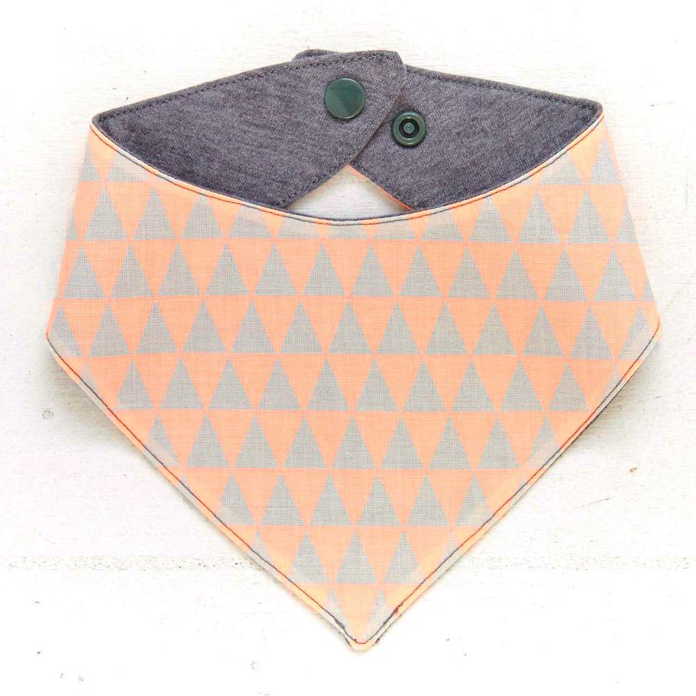 Dreieck Orange/Grau