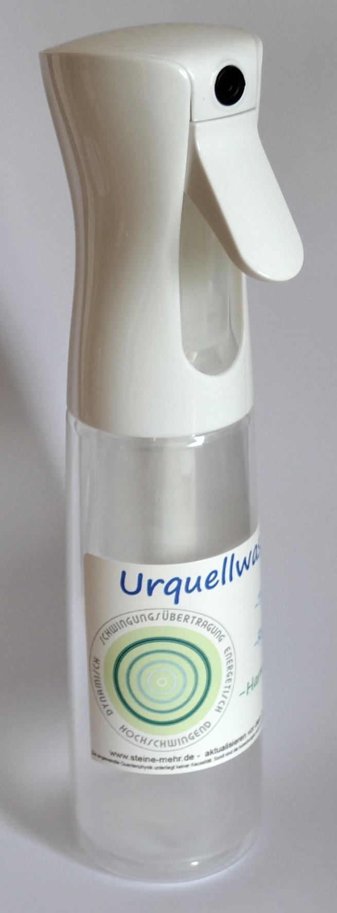 Urquellwasser Sprayflasche