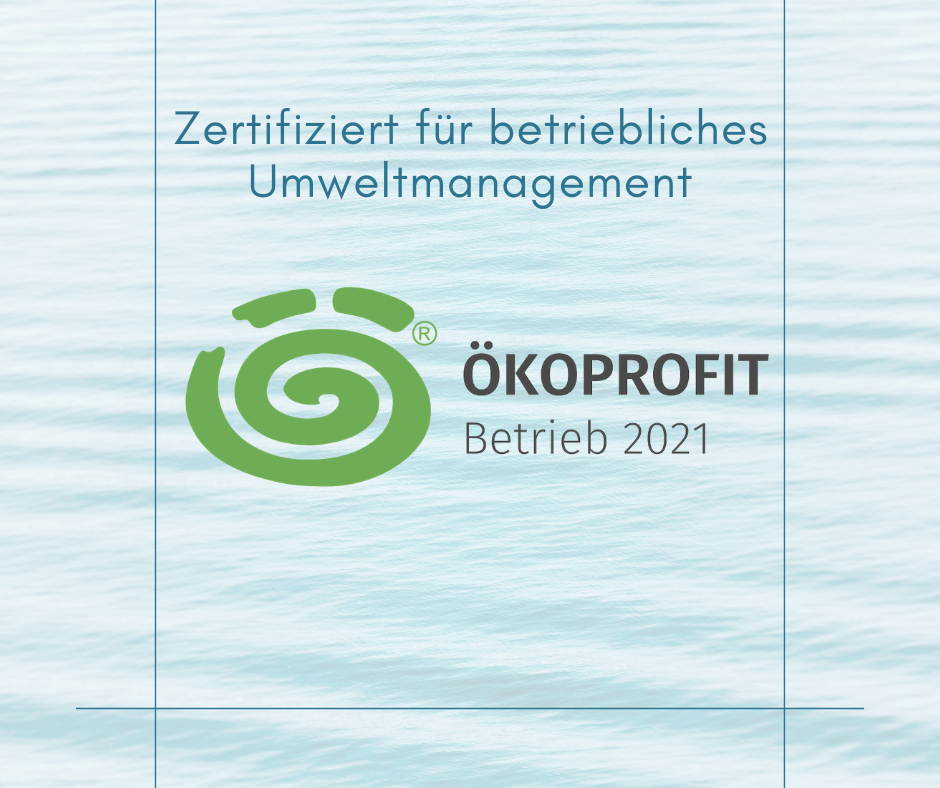 Ökoprofit Betrieb 2021