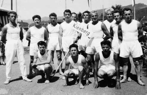Foto aus der Gründungszeit des Turnvereins im Jahr 1956