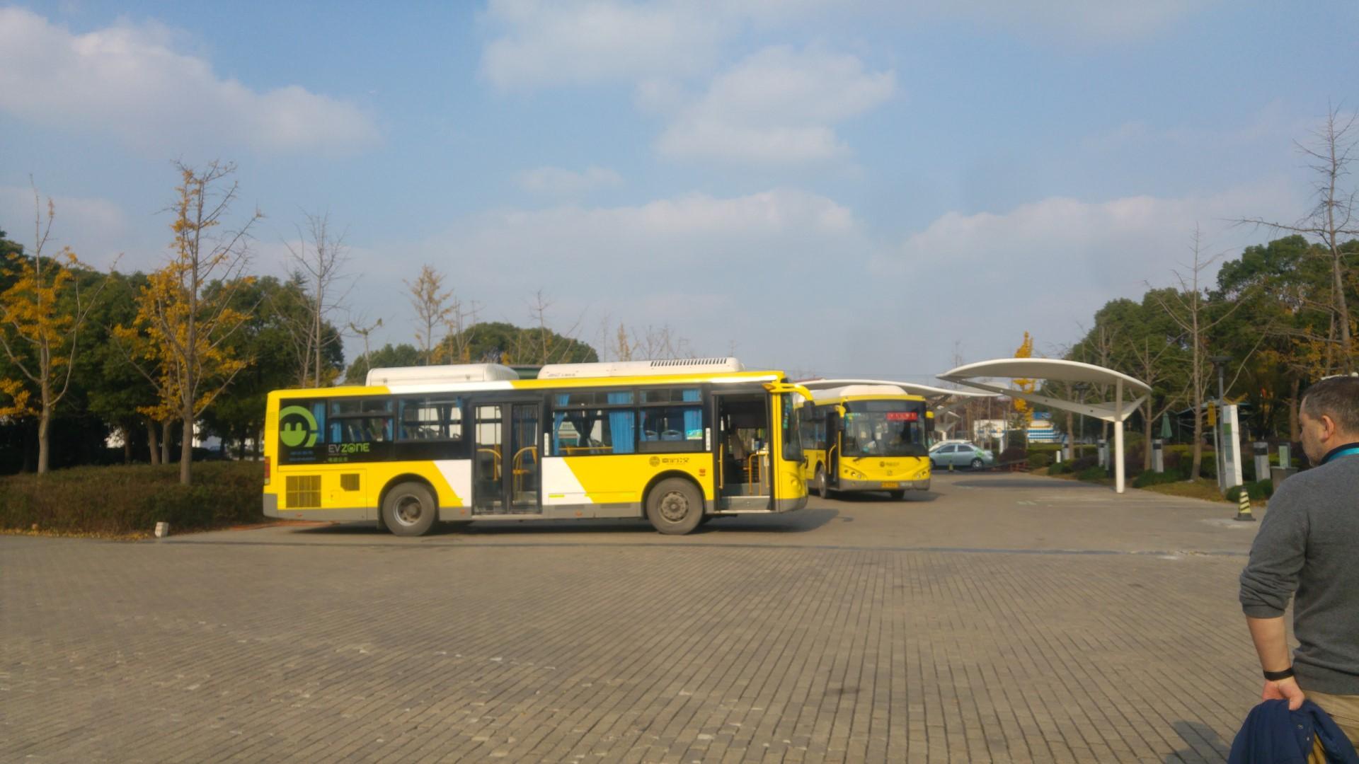 chinesische Elektrobusse