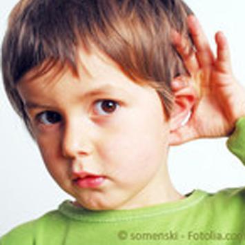 Kinder, Ohrenerkrankungen