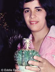 Linda Borges Pereira & Discocactus subterraneo-proliferans, ca 1980