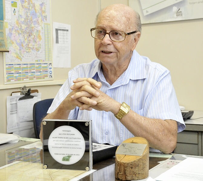 Prof. Dr. Angelo Rizzo, Goiania/Brasil