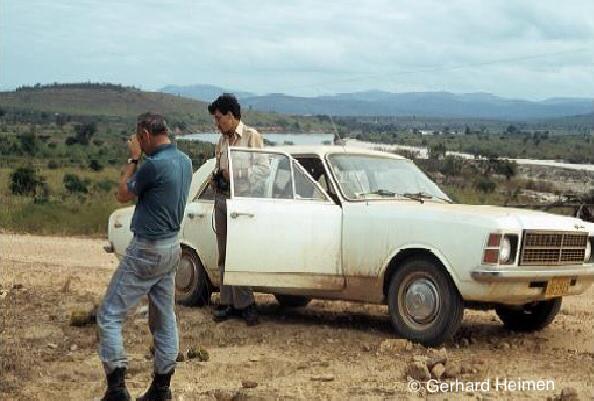 1979, together with Emil Braun at Rio Jequitinhonha, Minas Gerais