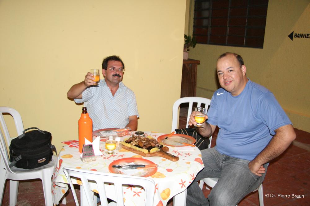 with Dr. Richard Esteves, Porto Murtinho, Mato Grosso do Sul 2007