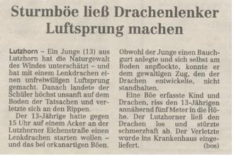 Barmstedter Zeitung 2001