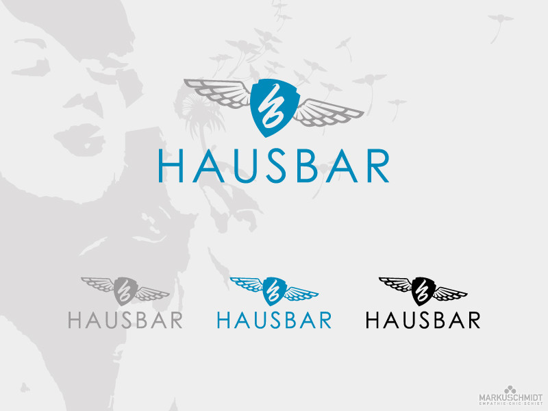 Job: Logo Design, Client: Hausbar, Bar & Eventlocation