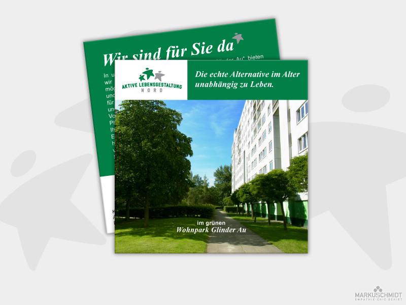 Job: Flyer Design, Client: Aktive Lebensgestaltung Nord