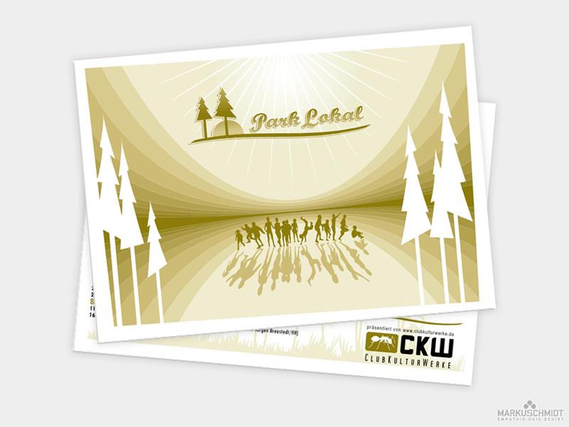 Job: Flyer, Client: Club Kultur Werke - Park Lokal 2006