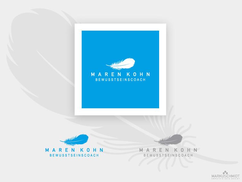 Job: Logo Design, Client: Maren Kohn - Bewusstseinscoach