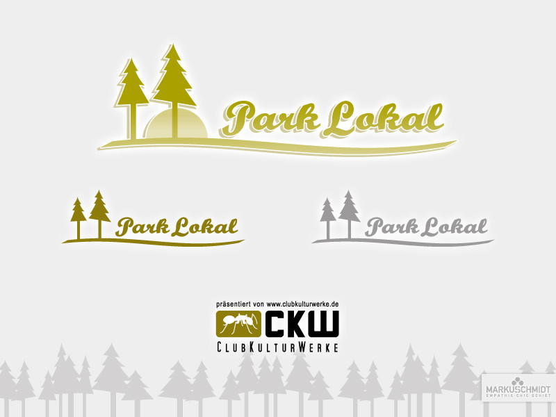 Job: Logo Design, Client: Club Kultur Werke - Park Lokal