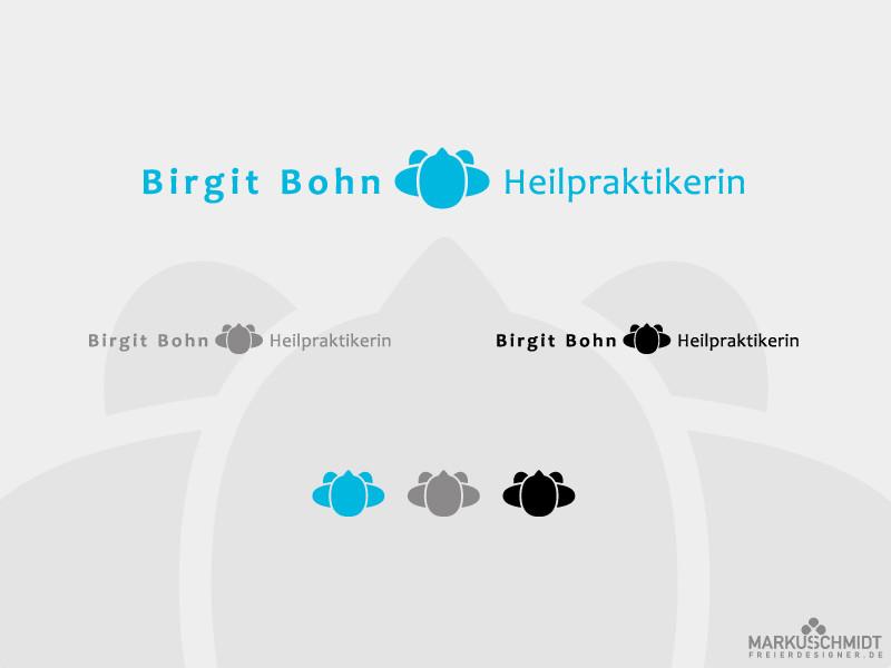 Job: Logo Design, Client: Birgit Bohn - Heilpraktikerin