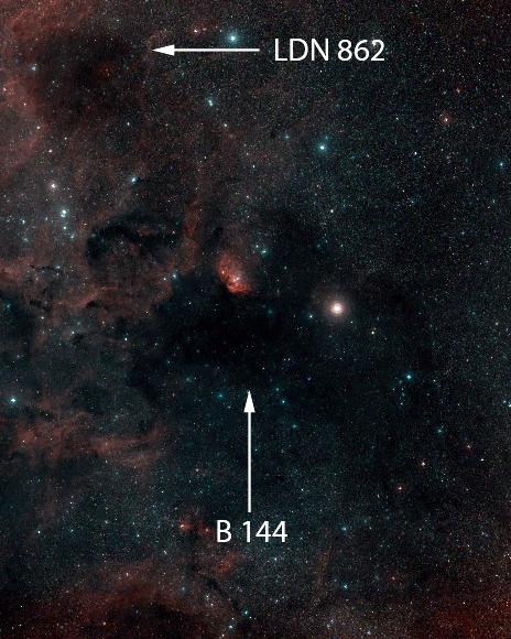 LDN 862 und Barnard 144