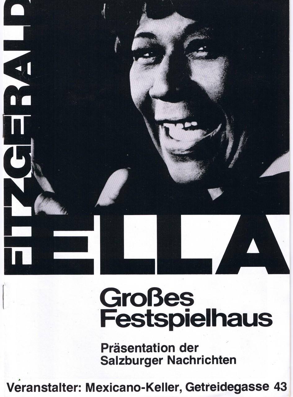 Ella Konzert 1977 im Großen Festspielhaus Salzburg