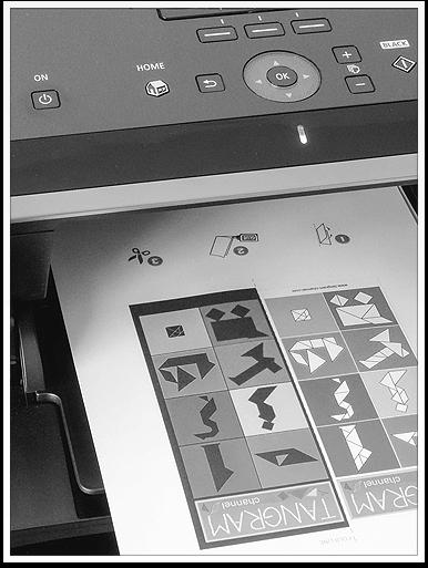 www.presto-tangram.com - Imprimer les cartes Tangram sur du papier épais au format A4.