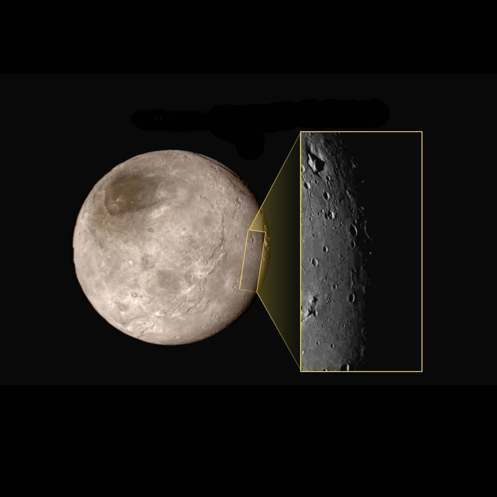 Charon, le plus gros des satellites