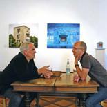 Quint Buchholz u. Frank Kunert bei einer Veranstaltung