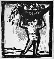 Wilhelm Buck: Herbst Holzschnitt