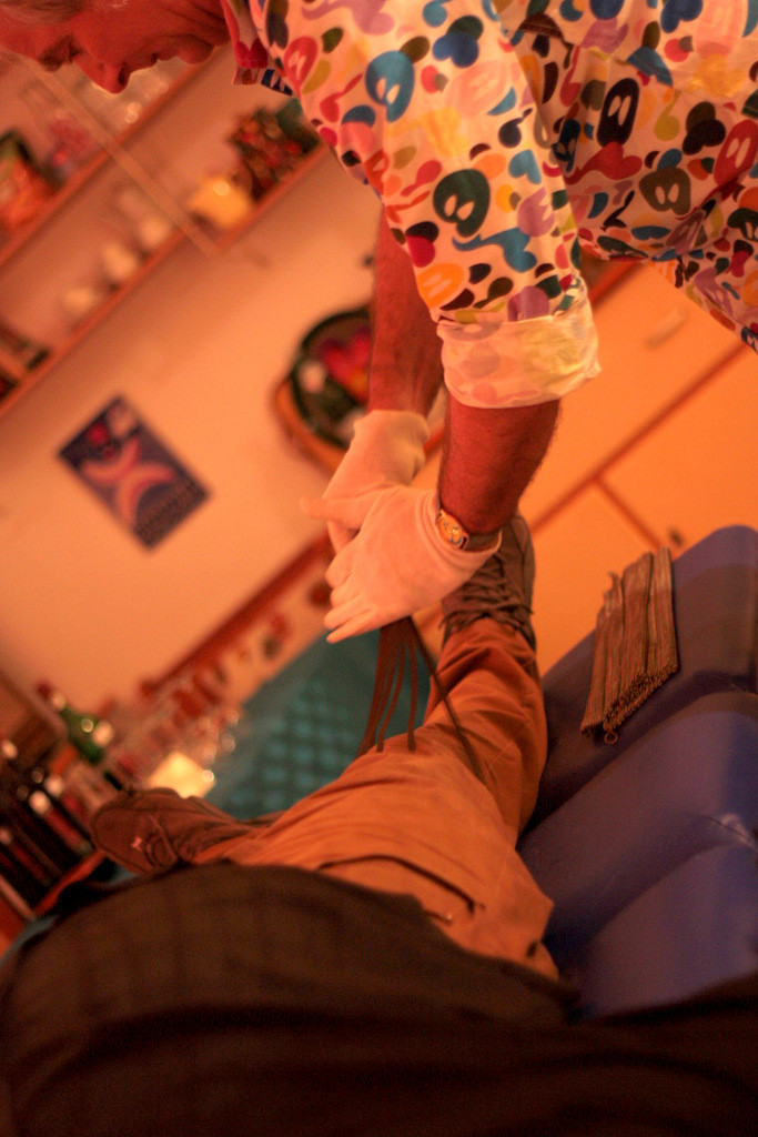 wire healing studio von stephan brenn; foto©cristina lelli