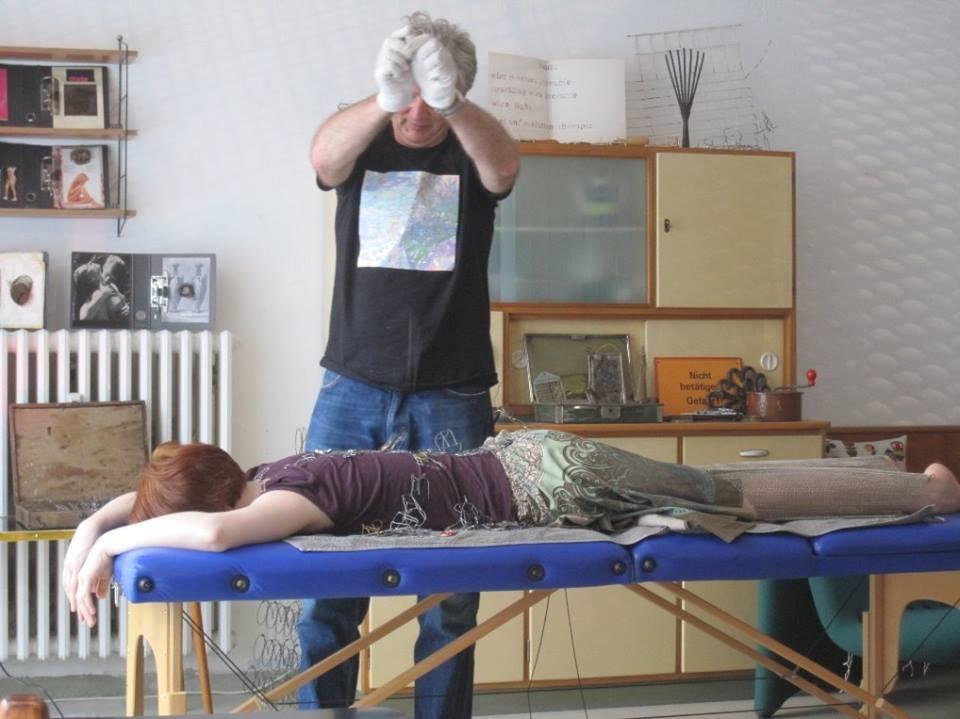 wire healing studio von stephan brenn; foto©anton schwarzbach