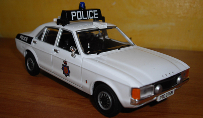 Ford consul Mk3 3000 GT police du Lancashire,