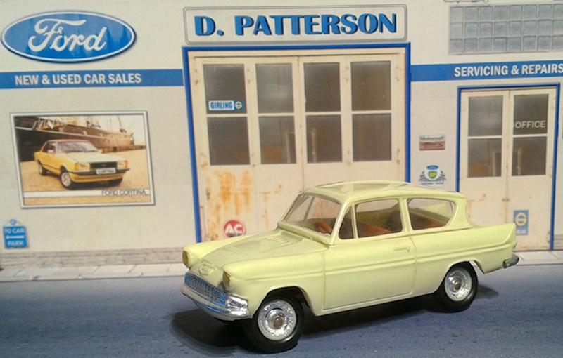Ford anglia 105E 1959 Minialuxe