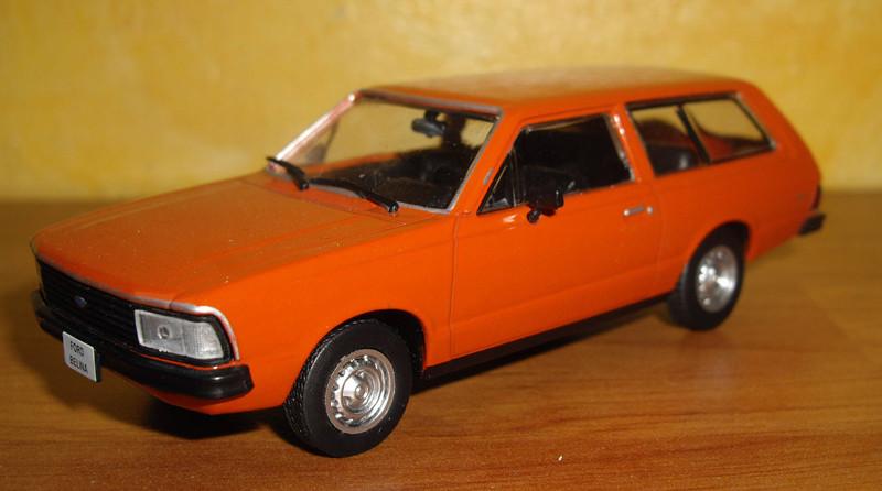 Ford belina 2 1980 Altaya carros inesqueciveis do Brasil n°31