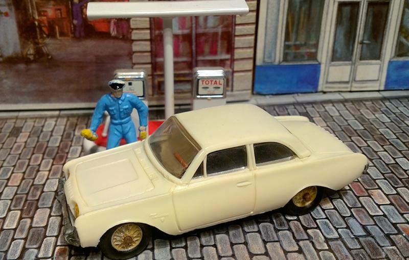 Ford taunus 1960 17m 4p Minialuxe