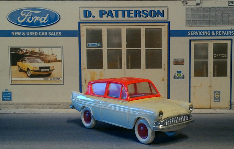 Ford anglia 105E 1959 Minialuxe bi colore
