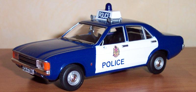Ford consul Mk3 3000 GT police de Glasgow,