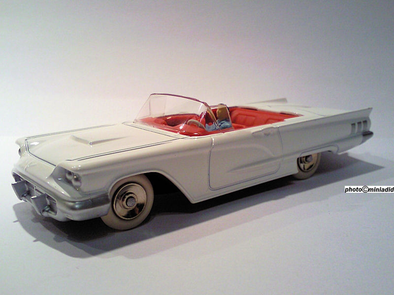 Ford thunderbird 1958 Dinky Atlas collection dinky toys de mon enfance Noël 2012