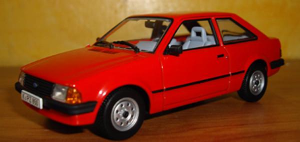 Ford escort Mk3 1981 Minichamps ref: 400085000