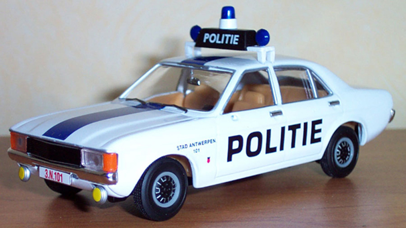 Ford consul Mk3 3000 GT police d'Anvers,