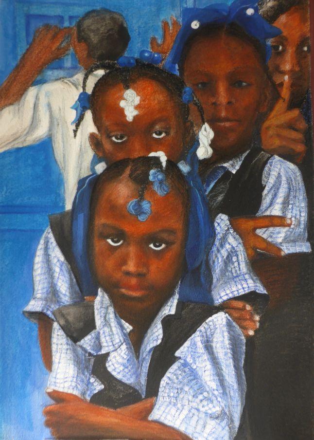 Menschenplanet , Schulkinder in Haiti