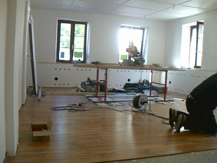 Bauphase (Bilder sind mit dem Handy gemacht)