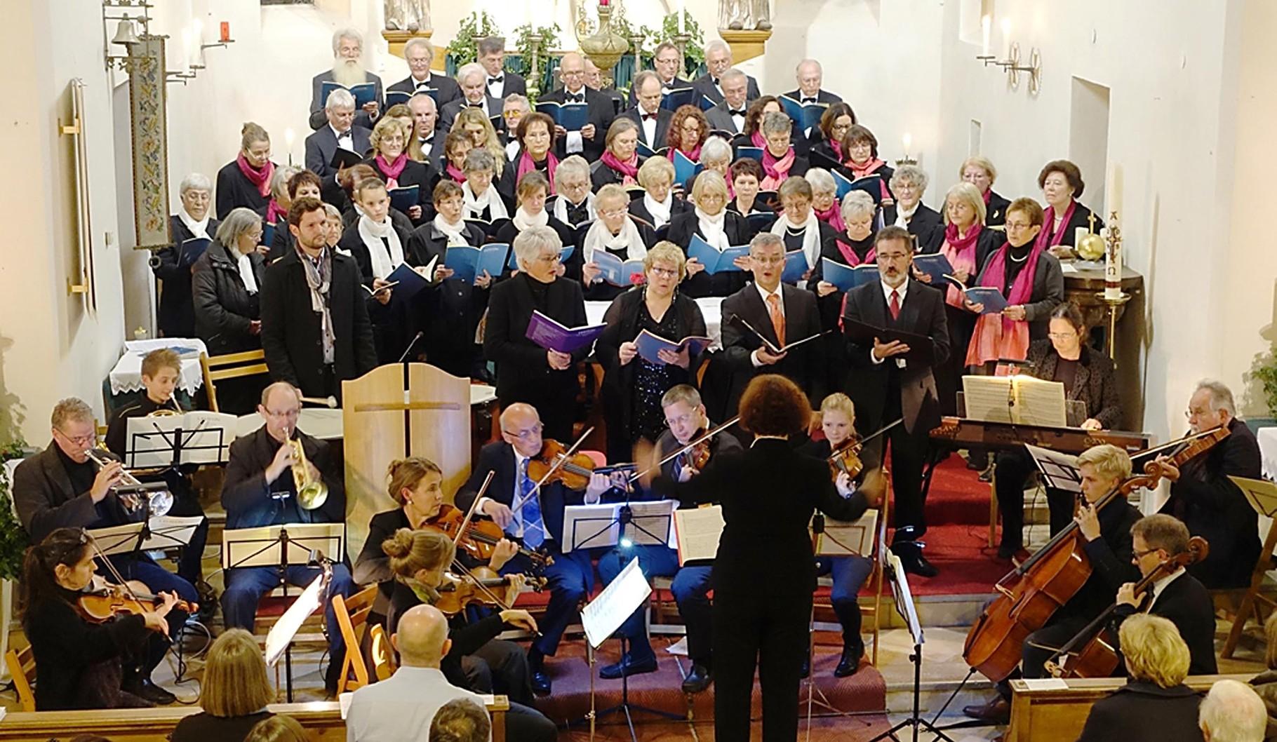 18. 10. 2015  Nikolaimesse in der Kirche von Alxing