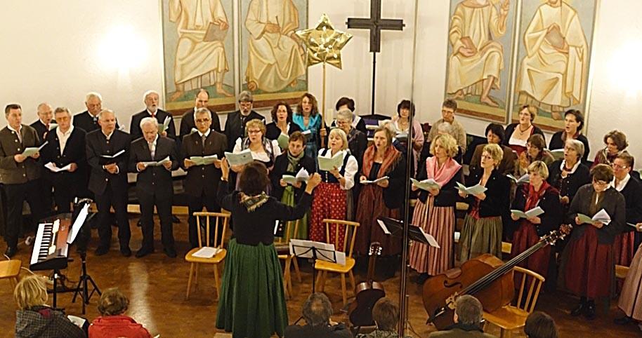 2014 - Weihnachtsoratorium von Hans Berger in der evangelischen Kirche Grafing